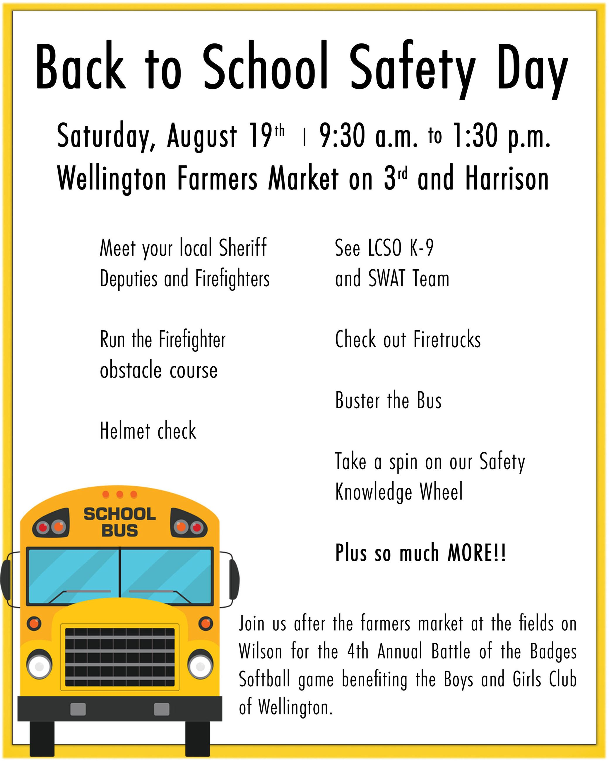 safety Day Flyer
