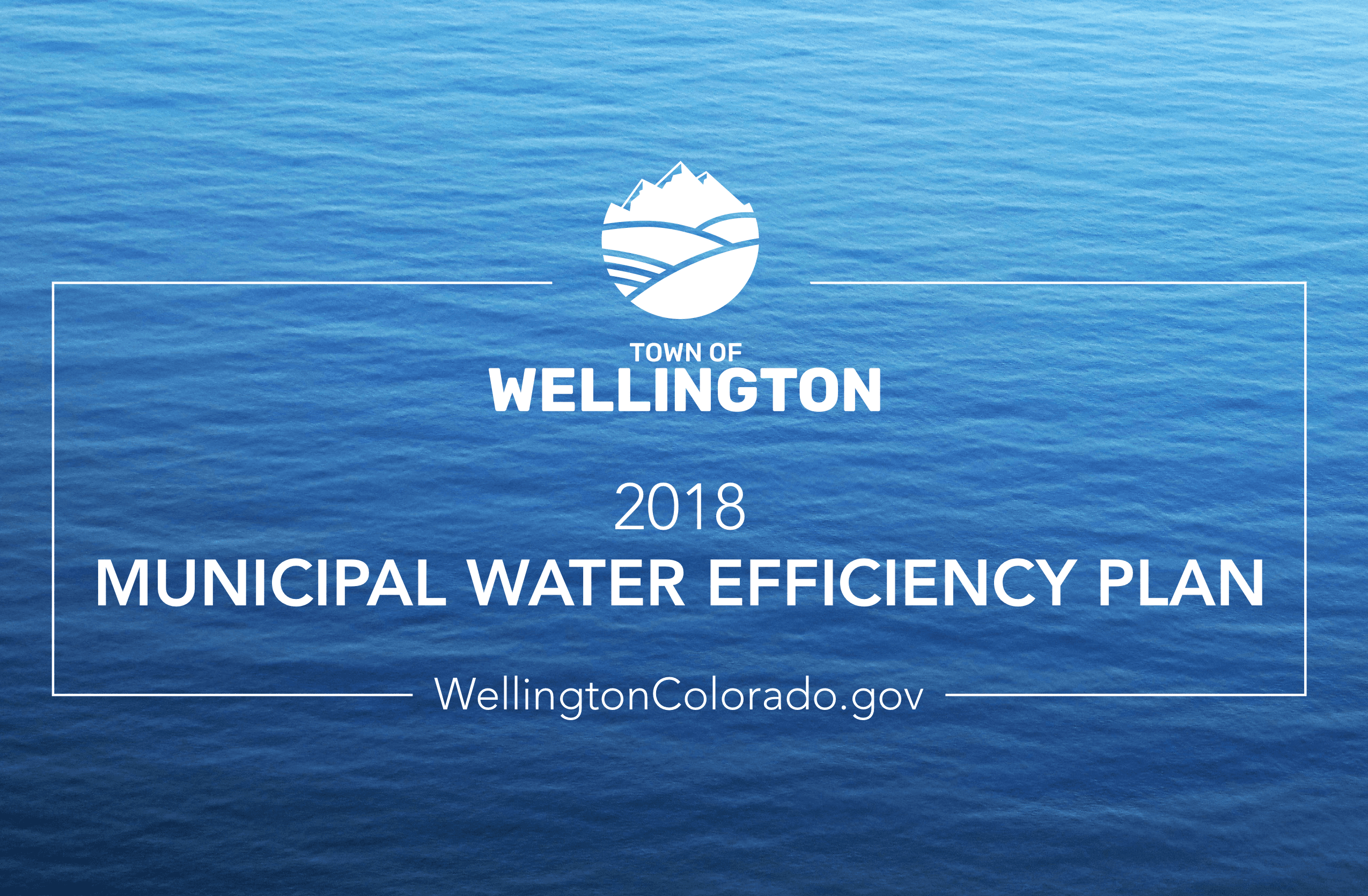 Town Of Wellington 2018 Water Efficiency Plan