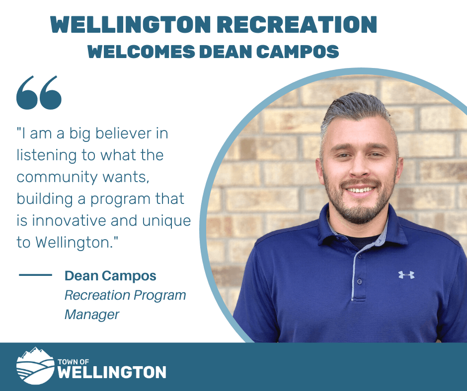 Recreation Welcomes Dean Campos
