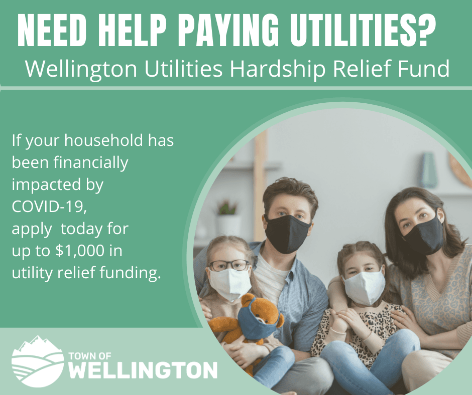 Wellington Utilities Hardship Relief Fund Available Now