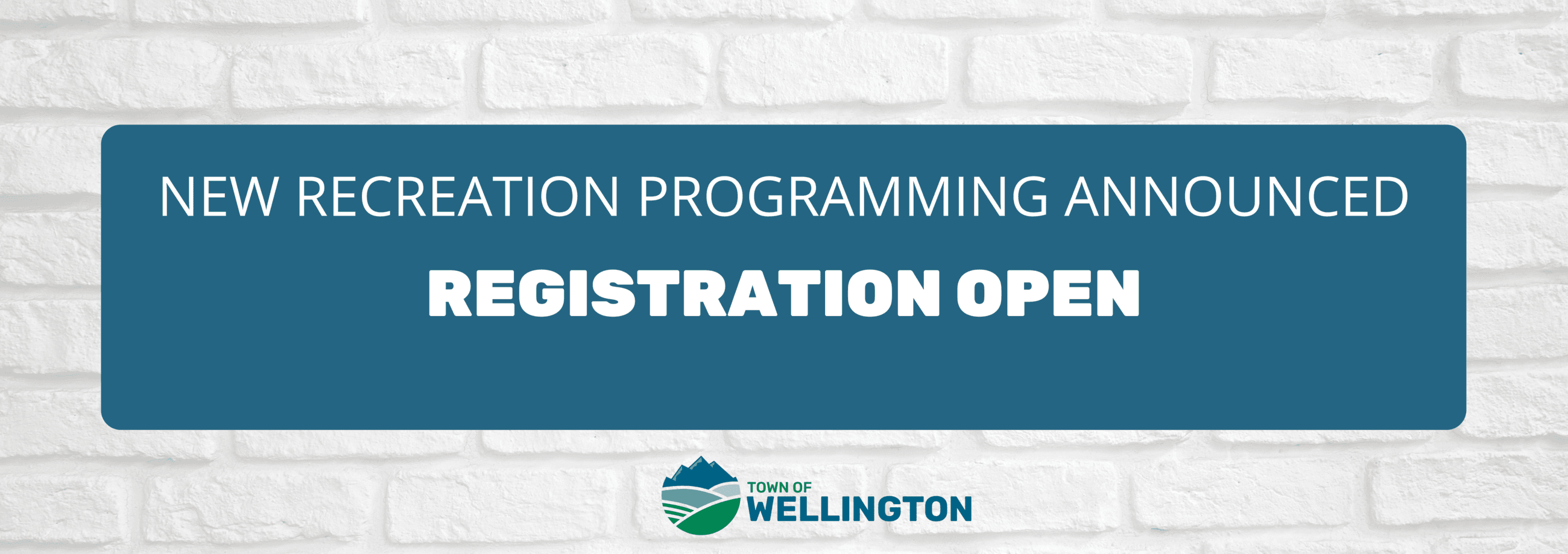 Recreation Registration Open with New Programming Announced