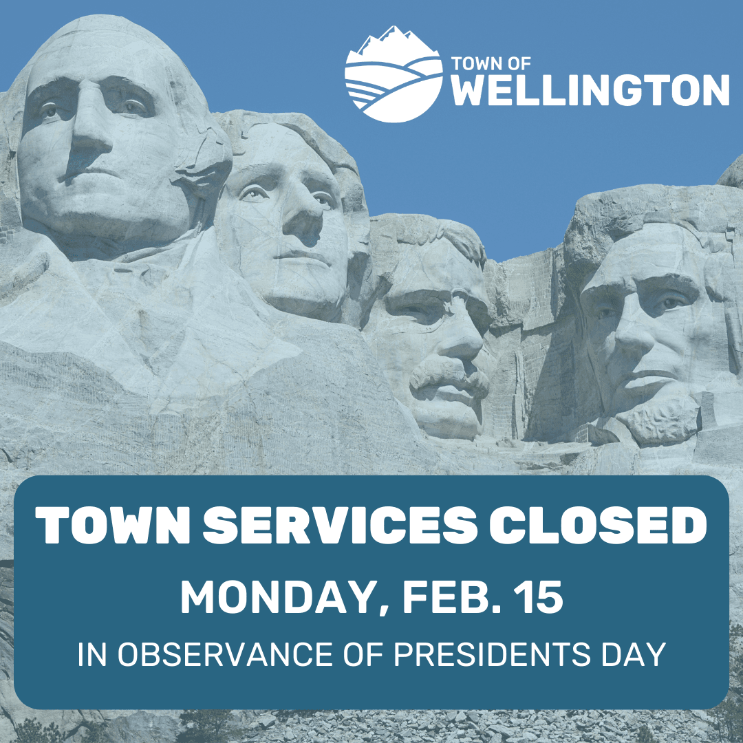 Town Services Closed Monday, Feb.15 for Presidents Day