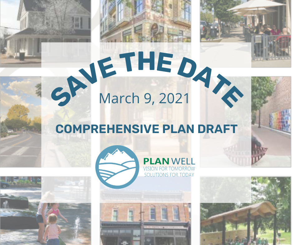 Comp Plan Draft - Save the Date March 9, 2021